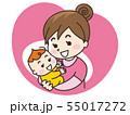 赤ちゃんと母親のアイコン 55017272