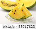 黄色いスイカ 55017823
