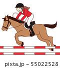 馬術・乗馬選手(女性) 55022528