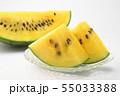 黄色いスイカ 55033388