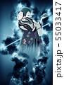 浮世絵 歌舞伎役者 その32 煙バージョン 55033417