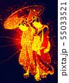 浮世絵 女性 その24 サイバーバージョン 55033521