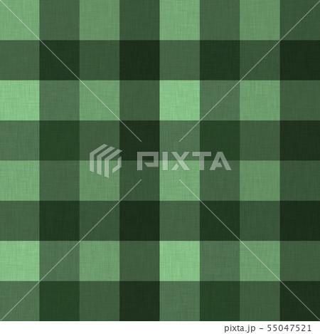 緑色系チェック柄テクスチャ05 55047521