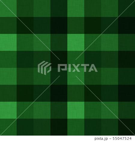 緑色系チェック柄テクスチャ02 55047524