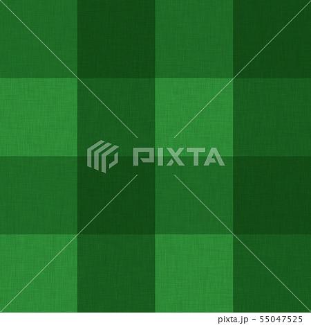 緑色系チェック柄テクスチャ01 55047525