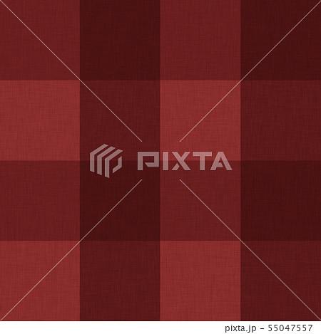 赤色系チェック柄テクスチャ01 55047557