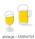 ビール グラス ジョッキ 55054753