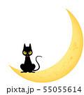 黒猫(ハロウィン素材) 55055614