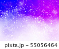 紫色星キラキライメージ 55056464