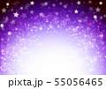 紫色星キラキライメージ 55056465