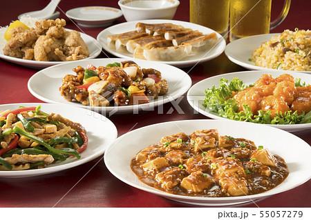 中華料理 55057279