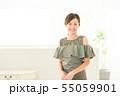 女性 若い女性 パーティー パーティ かわいい ビューティー 55059901