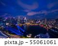 シンガポールの夜景 55061061