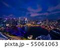 シンガポールの夜景 55061063