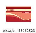 通帳 銀行 アイコン 55062523