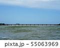 由良川橋梁と列車 55063969