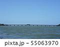 由良川橋梁と列車 55063970
