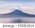 朝焼けの桜島 55081914