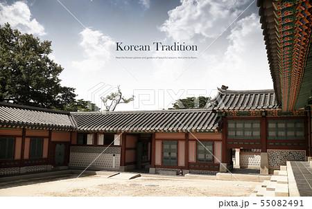 일러스트,한국,전통 55082491