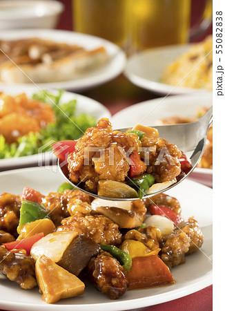 中華料理 55082838