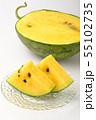 黄色いスイカ 55102735