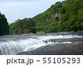 吹き割りの滝 55105293