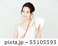 デンタル ホワイトニング オーラルケア ビューティー 女性 若い女性 美容 55105593