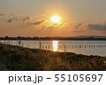Lake Pomorie is the northernmost of the coastal 55105697