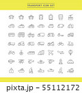 TRANSPORT ICON SET 55112172