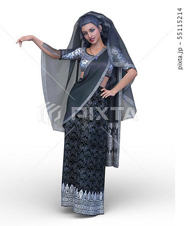 インドの女性 55115214