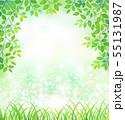 新緑のグリーン・フレーム 55131987