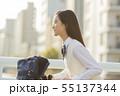 中学生 高校生 女の子の写真 55137344