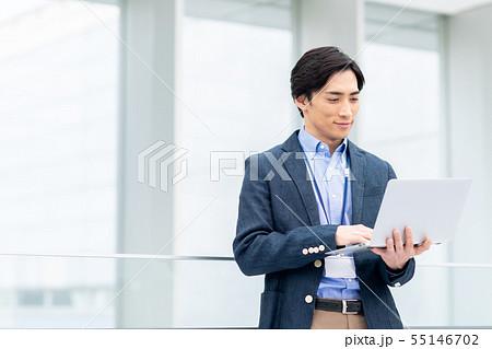 ビジネスマン 55146702