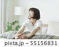 女性 伸び 女の子の写真 55156831