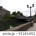 小樽,北海道,運河,浅草橋,初夏,観光地, 55161452