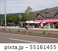 小樽,北海道,運河沿い,お土産店,呼び込み,夏 55161455