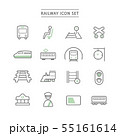 RAILWAY ICON SET 55161614