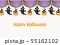 ハロウィン カーテン 背景 55162102