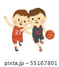 バスケットボール 男性 55167801
