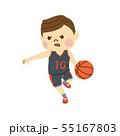バスケットボール 男性 55167803