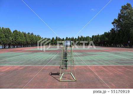 テニスコート四面・鶴沼公園 55170919