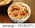 たこめし 郷土料理 炊き込み御飯 55181571