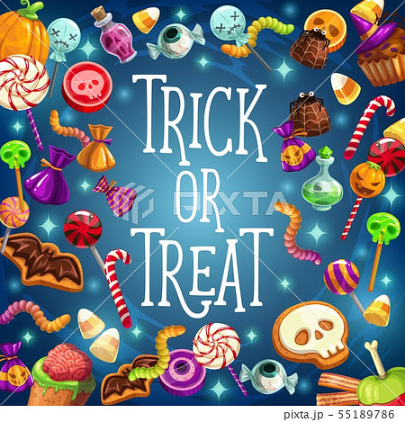 Trick and treat, halloween holiday, sweets 55189786