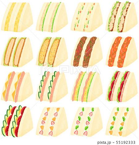 サンドイッチ まとめ 55192333