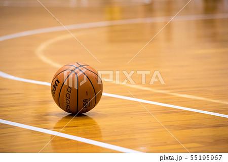 体育館のバスケットボール 55195967