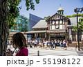 【原宿駅前 信号待ち】 55198122