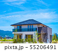 青空と新築エコハウス 55206491