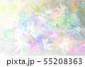 パステルカラーの紅葉(和紙のテクスチュア) 55208363