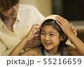 親子 女の子 母親の写真 55216659