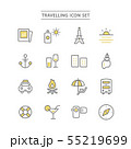 TRAVELLING ICON SET 55219699
